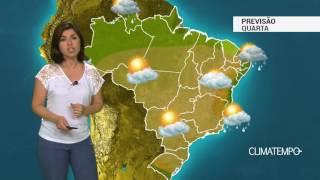Previsão Brasil – Nova frente fria passa pelo RS