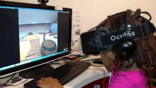 Playing roblox with an oculus