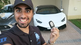 Racing in My Sisters Lamborghini Huracan - My First Drive !!!