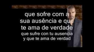 ALEXANDRE PIRES Sem teu amor nada é igual (espanhol) -- Sin tu amor nada es igual (español) LETRAS
