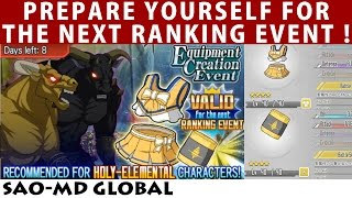 Next Batch Is Light Units? Prepare Yourself - Taurus The Minotaur Guide (SAO Memory Defrag Global)