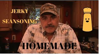 HOMEMADE JERKY SEASONING