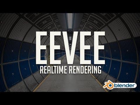 First Look at Eevee: Blender