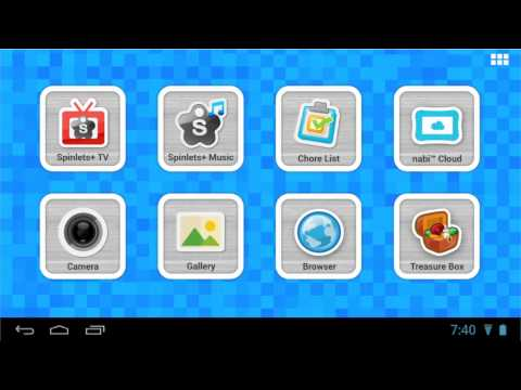 Repeat NABI 2 Kids Tablet Unboxing and Review 2014 by Christopher