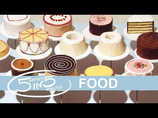 FOOD | 5 Artists in 5 Minutes | LittleArtTalks