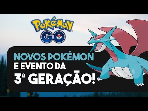 RAYQUAZA + EVENTO DA TERCEIRA GERAÇÃO! | Pokémon GO thumbnail
