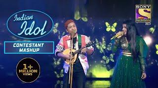 Pawandeep और Arunita का Duet Performance आया Kumar Sanu जी को पसंद   Indian Idol   Contestant Mashup