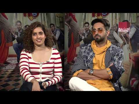 Badhaai Ho!! Exclusive Interview II Ayushmaan Khurana & Sanya Malhotra II