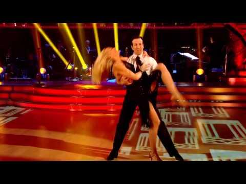 Jerry Hall & Anton du Beke - Cha Cha Cha - Strictly Come Dancing 2012 - Week 1