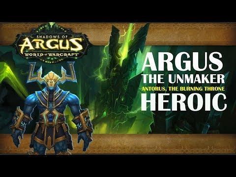 Argus the Unmaker l Heroic l Balance Druid PoV
