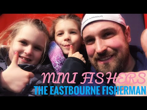 Kids Sea Fishing In Eastbourne East Sussex - Mini Fishers - Episode 1
