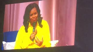 Sarah Jessica Parker and Michelle Obama discuss Barack Obama