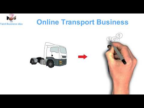 Online Transport Business  without Trucks (Tamil)