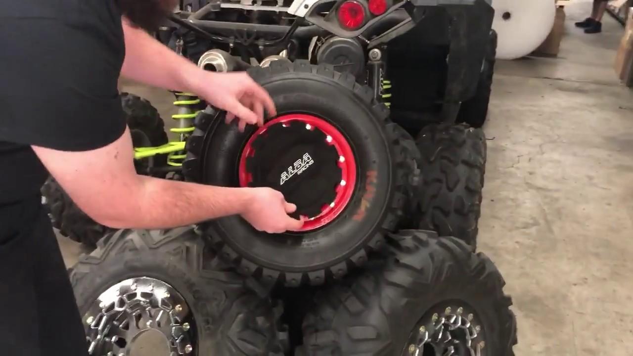Alba Racing ATV Bead Lock Mud Plug Installation