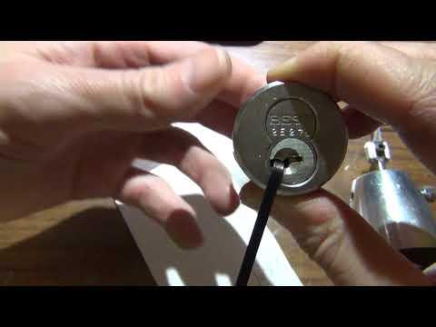 (217) Klom Electric Pick Gun Picking Best Cylinder to Operating
