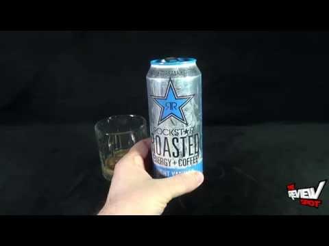 Random Spot - Rockstar Roasted Energy+Coffee Light Vanilla Energy Drink