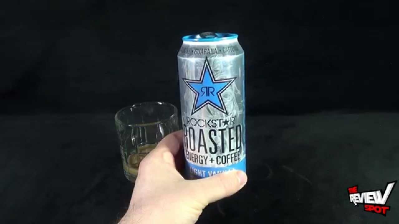 Random Spot Rockstar Roasted Energycoffee Light Vanilla Energy