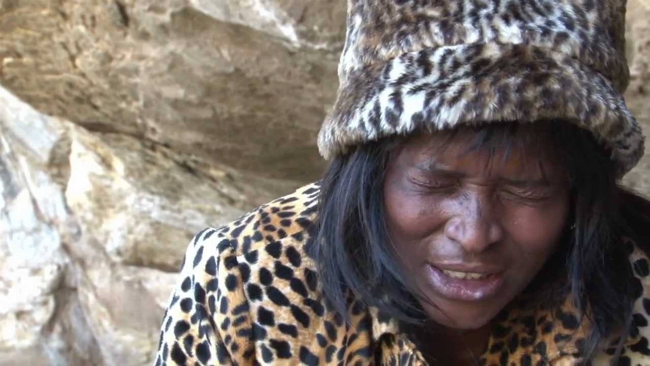 Trance dance and night of the spirits by holy people of the Sotho