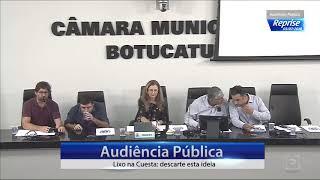 Audiência Pública 03/07/2018  - Lixo na Cuesta: descarte esta ideia