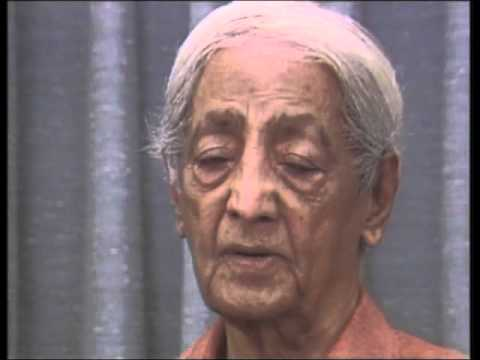 How can our limited brain grasp the unlimited? | J. Krishnamurti