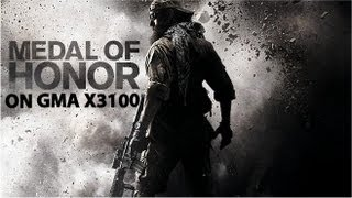 Medal of Honor 2010 on GMA x3100