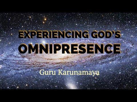 How to experience God's omnipresence I Guru Karunamaya I Soundarya Lahari