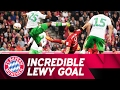 5 Goals in 9 Minutes! Lewandowski's Bicycle Kick Against VfL Wolfsburg