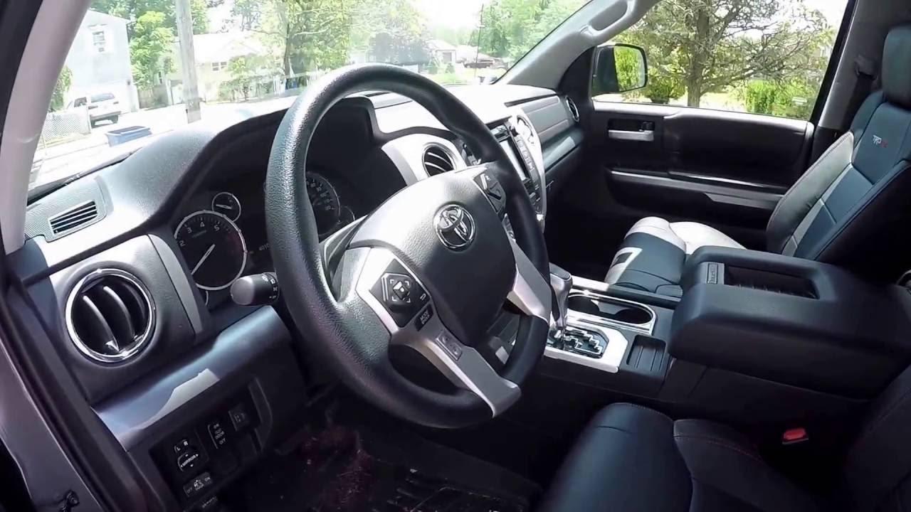 Tundra Pro Interior Toyota 2017
