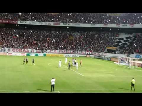 Gol de Anderson Salles - Santa Cruz 1 x 0 Itabaiana-SE (CNE 2017)