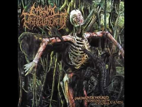 Carnal Disfigurement-Inhuman Devoured Content from Cranial Cavity ( full album )