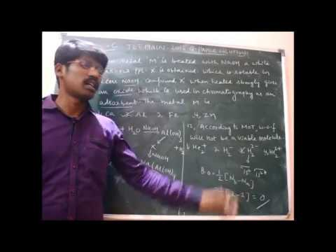 JEE MAINS 08-04- 2018 CHEMISTRY SOLUTIONS PART 1 BY VKM SIR