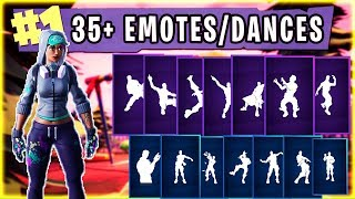 "FORTNITE New ""TEKNIQUE"" Skin Showcased with 35'Dances/Emotes (en anglais seulement) Fortnite SEASON 4 Col de bataille SKINS"