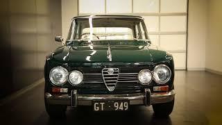 Zagame Alfa Romeo discuss this beautiful classic Giulia.