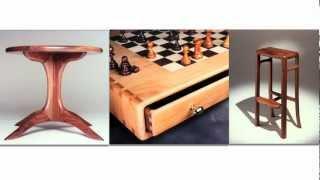 Rancho Cucamonga Rocking Chairs, Coffee Tables, Bar stools - Custom Furniture