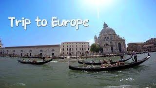 Trip to Europe. 유럽 자유여행 브이로그 영…
