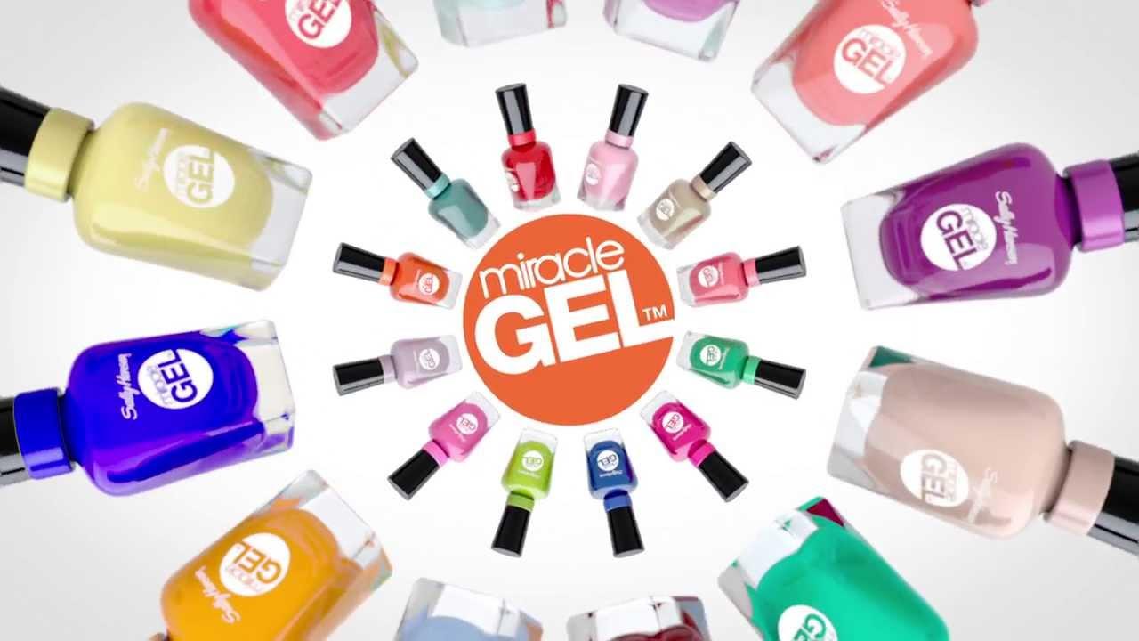 Miracle Gel Nail Polish - 15S EN TV Ad | Sally Hansen Canada - YouTube