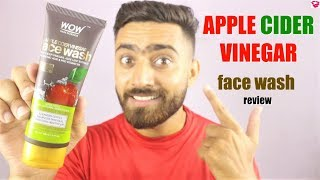 Wow Apple Cider Vinegar face wash review | QualityMantra