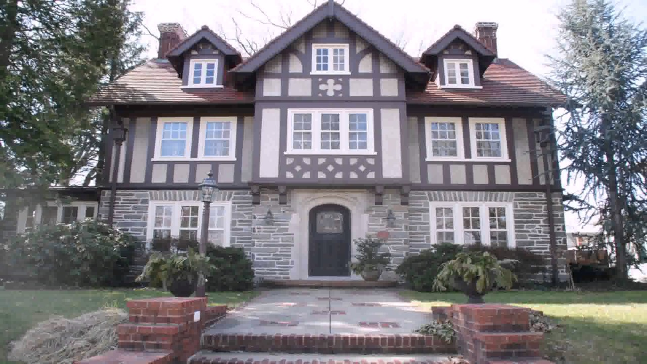 Tudor Style House tudor style homes front door - youtube