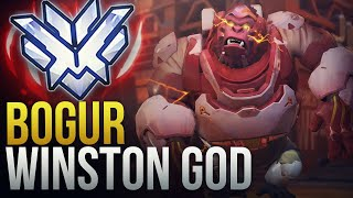 WHAT A PRO WINSTON GOD LOOKS LIKE - Overwatch Montage