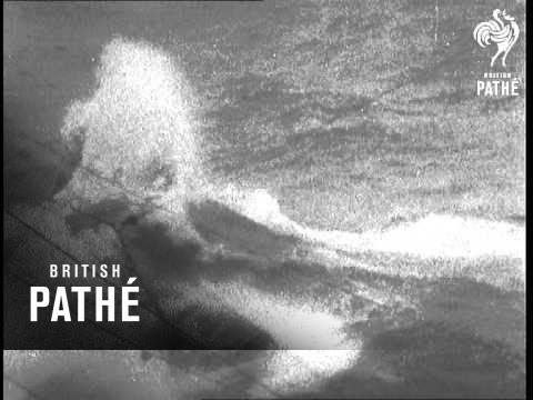 Us. Navy Exercises Aka American Mediterranean Fleet In Rough Water (1956)