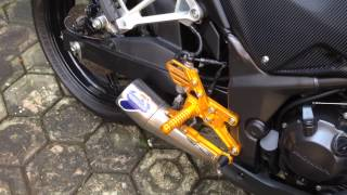 Cbr 250r termignoni conical gp exhaust