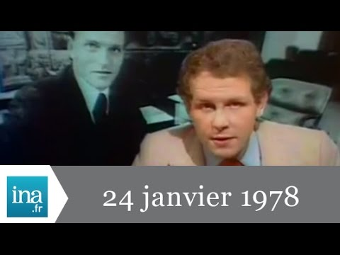 20h Antenne 2 du 24 janvier 1978 - Crash d'un satellite nucléaire russe - Archive INA
