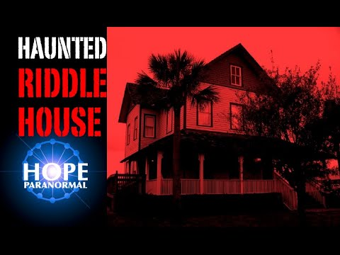 Riddle House Paranormal Investigation with WIRK