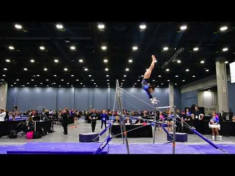 Mya Lauzon - Uneven Bars - 2018 Women's Junior Olympic National Championships