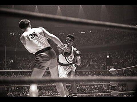 First fight of Muhammad Ali (vs. Zigzy Pietrzykowski in 1960)