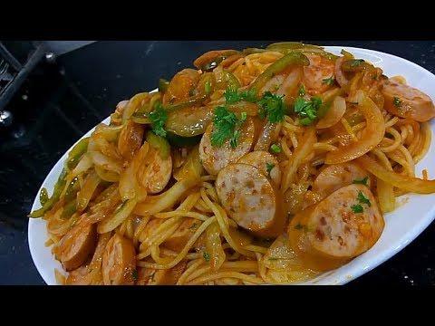 Spaghetti Napolitan – Mỳ spaghetti kiểu Nhật
