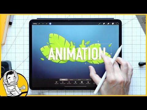 Simple Animations In Procreate Tutorial