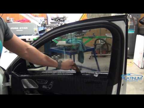 How To Tint - 2015 Mercedes S550 Side Windows