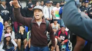 TROY vs BIG MIND - BATALLÓN - La Carolina Freestyle |Ecuador| Panamericana RedBull