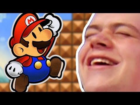 VOICE ACTING GOD | Super Paper Mario Stream Highlights
